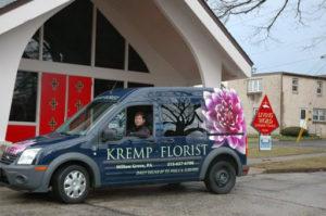 kremp Florist Van